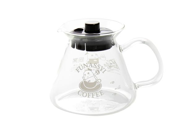 FUNASSYI COFFEE × Kalita ガラスサーバー