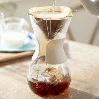 スターバックスのグラスドリップコーヒーメーカー