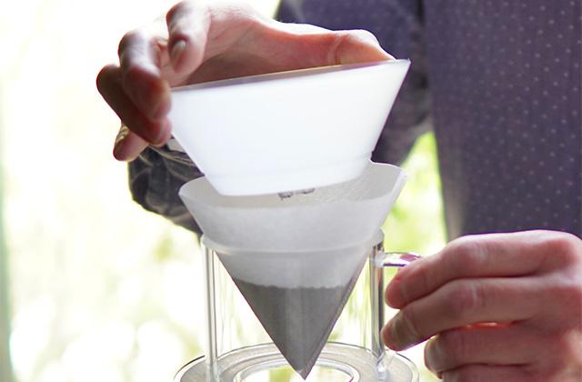 Gentle Coffee Dripper ジェントルコーヒードリッパー 使い方3
