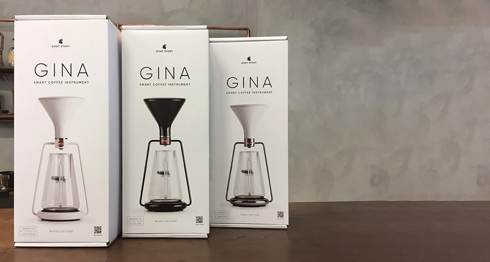 スマートコーヒーメーカーGINA BASIC