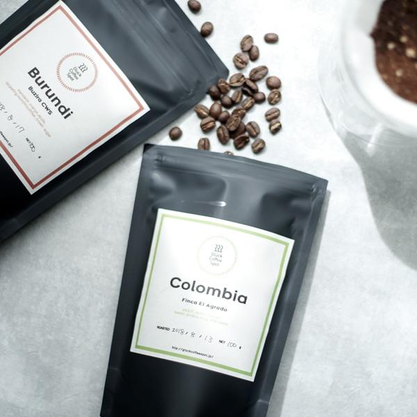 Gluck Coffee Spot コロンビア『Finca El Agrado』・ブルンジ『Buzira CWS』