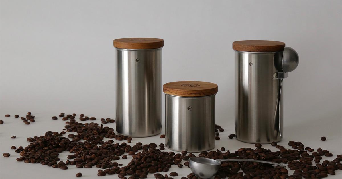 GLOCAL STANDARD PRODUCTSから、ステンレスキャニスターとコーヒーメジャースプーン発売。すごくかっこいい!