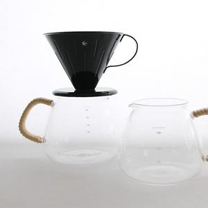 グローカルスタンダードプロダクツから、オリジナルの耐熱コーヒーサーバー『GSP COFFEE SERVER』が登場です。