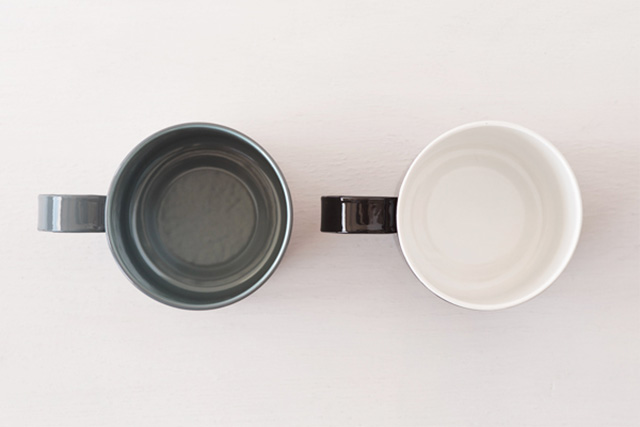 free design × GLOCAL STANDARD PRODUCTS マグカップ グレー
