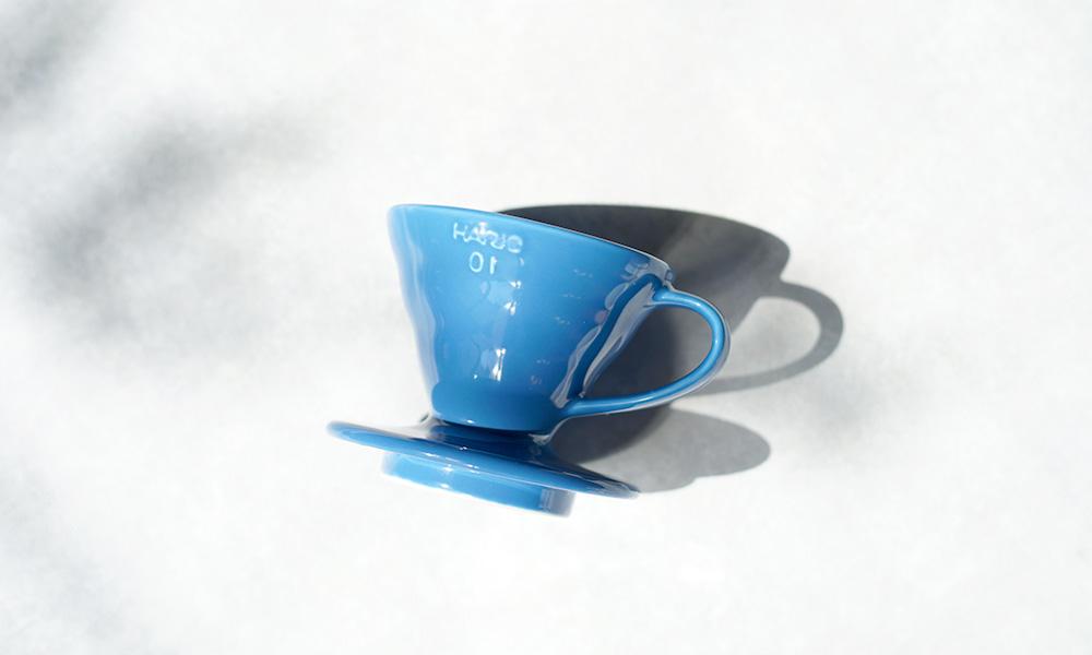 ILCANA(イルカナ)× HARIO(ハリオ)セラミックドリッパー 01 イルカナブルー