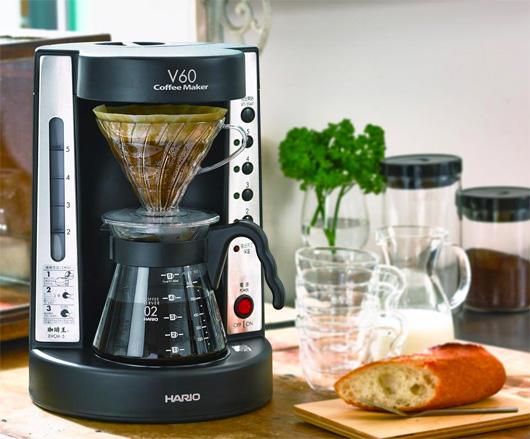ハンドドリップの美味しさを追求した  HARIO V60珈琲王コーヒーメーカー