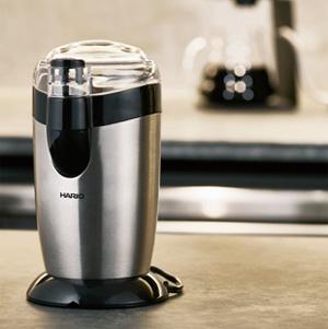 HARIO(ハリオ)からついに電動式カッターミル『電動コーヒーミル・カプセル』が登場!