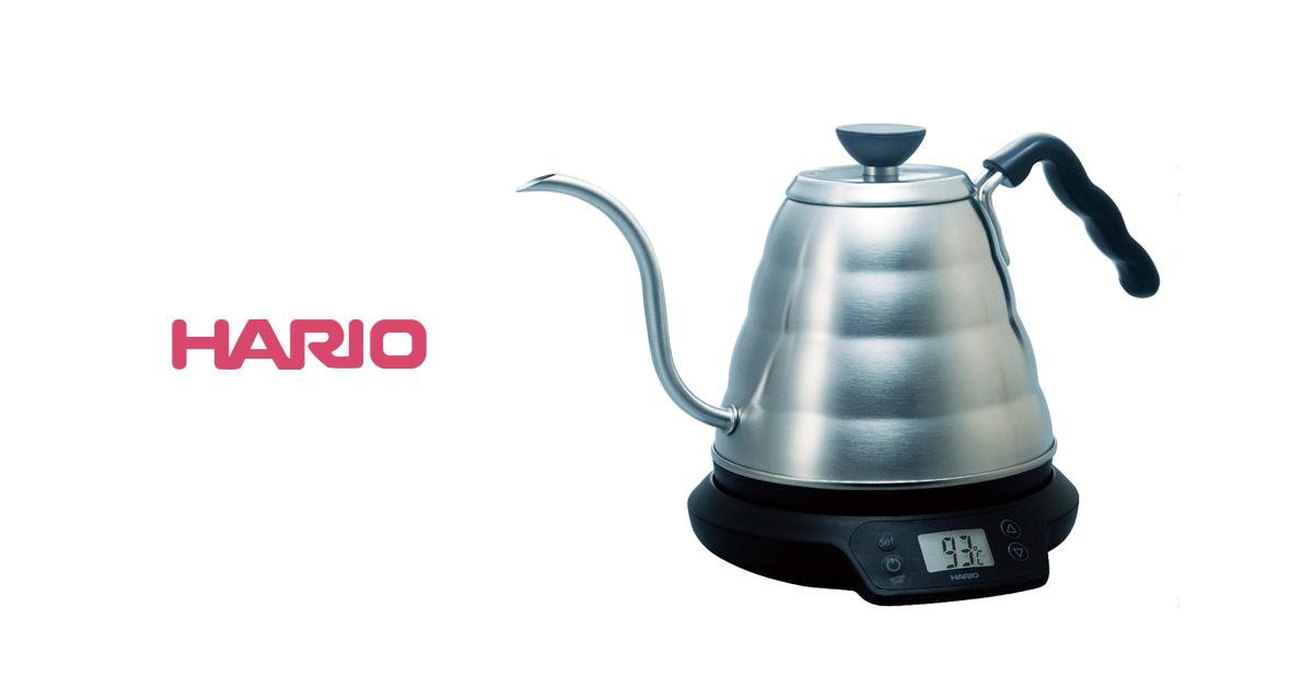 ハリオのV60温度調整付きパワーケトル・ヴォーノ