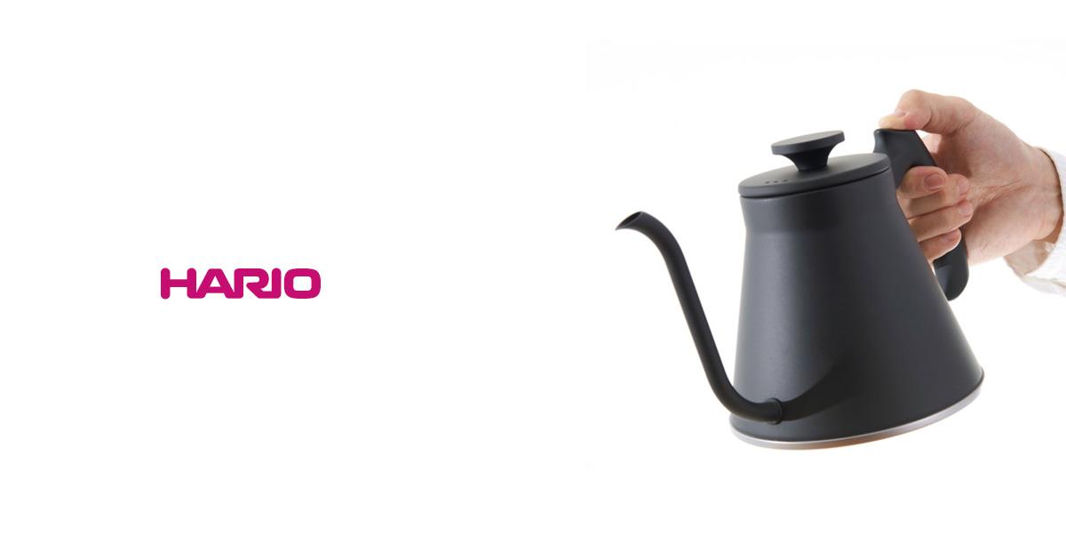 HARIO(ハリオ)から、  新しいケトル『V60ドリップケトル・フィット』が登場!
