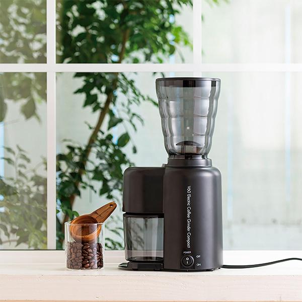 HARIO(ハリオ)から、『V60 電動コーヒーグラインダーコンパクト』登場!サイズ、これで十分だと思う。