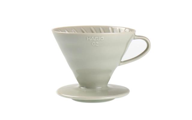 ハリオ × ILCANA(イルカナ) ドリッパー ライトグレー