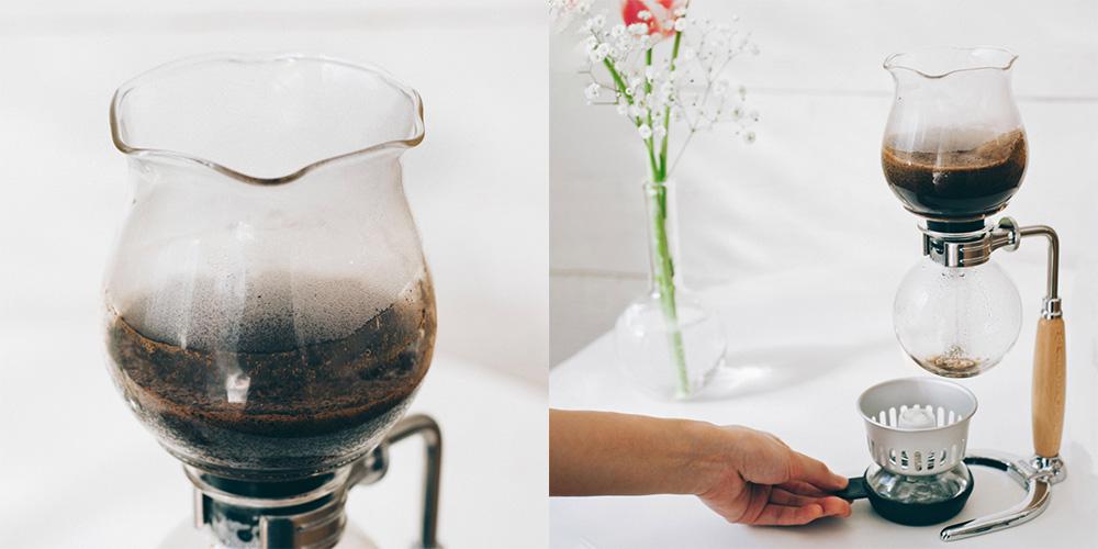 HARIO 100周年復刻版『コーヒーサイフォン はな』