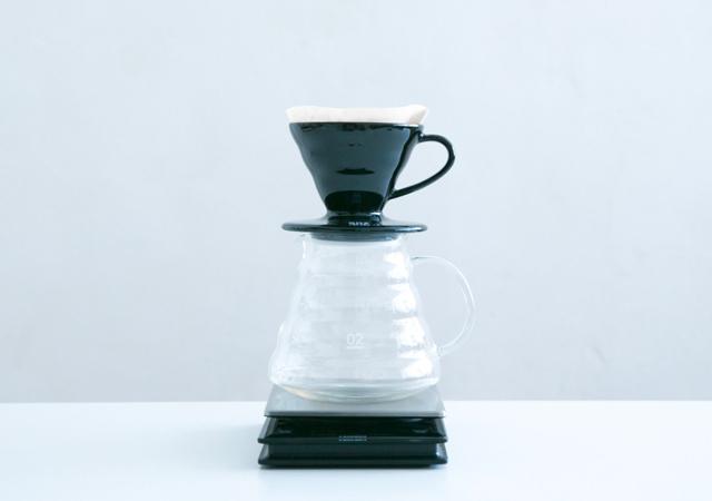 ハリオ V60透過ドリッパー× ONIBUS COFFEE ブラック