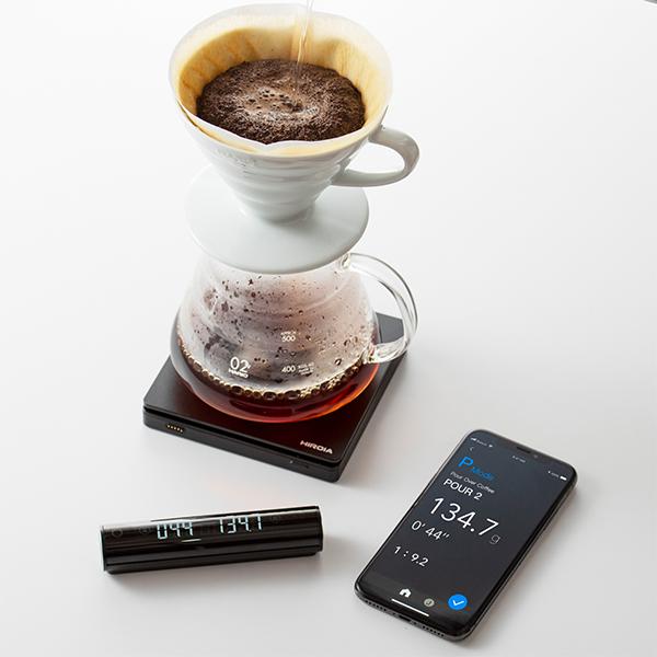 HARIO(ハリオ)から発売のコーヒースケール SmartQ JIMMYが、斬新!かっこいい!欲しい!