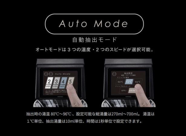 HARIO(ハリオ)コーヒーメーカー『V60オートプアオーバーSmart7』オートモード