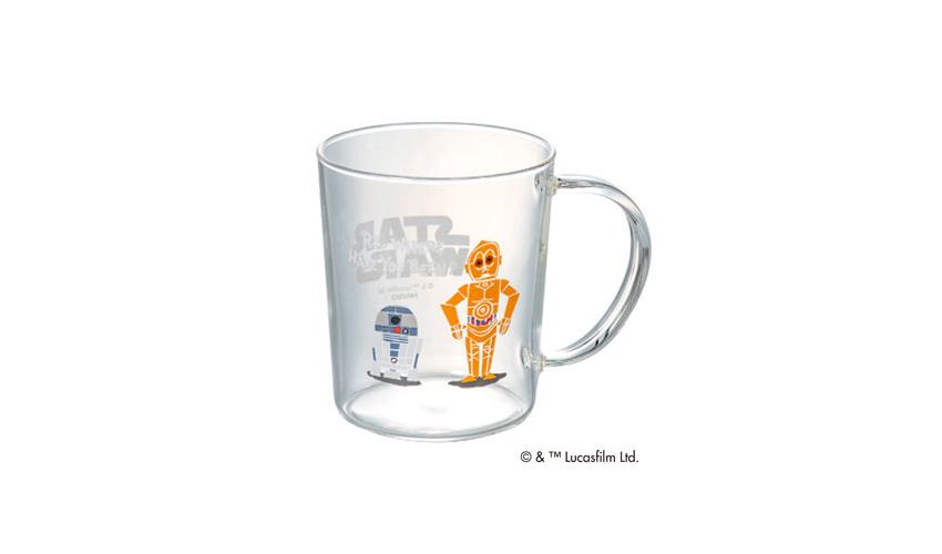 HARIO/ハリオ スター・ウォーズ R2-D2&C-3PO/マグ
