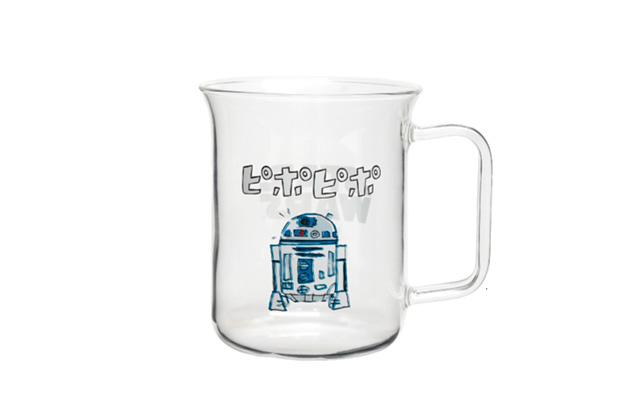 ハリオ 耐熱ガラスマグ R2-D2