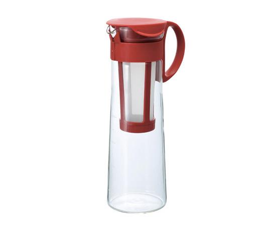 HARIO 水出しコーヒーポット レッド 1000ml