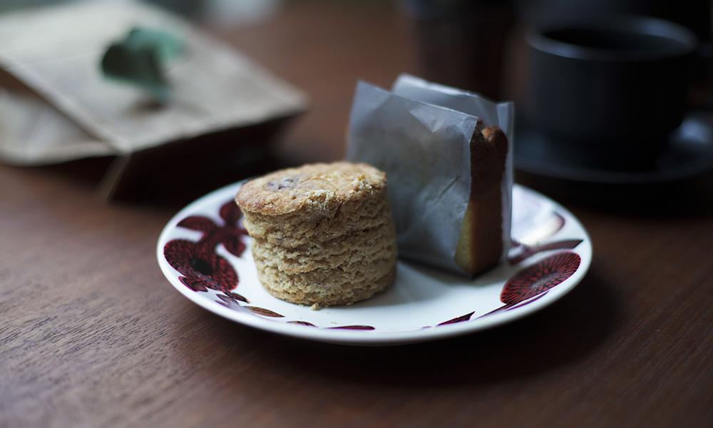 MUME スコーンとレモンケーキ