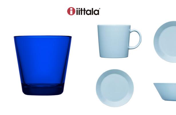 iittala(イッタラ)から、TEEMA(ティーマ)の新色『ライトブルー』とKartio(カルティオ)の限定色『コバルトブルー』が新登場!