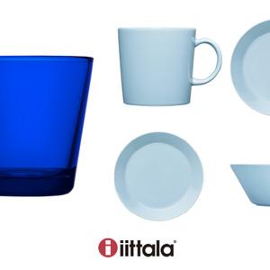イッタラから、ティーマの新色『ライトブルー』と  カルティオの限定色『コバルトブルー』が新登場!
