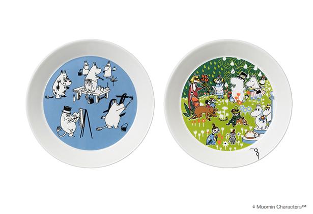 ARABIA Moomin コレクターズプレート ペインティング&ジュビリー