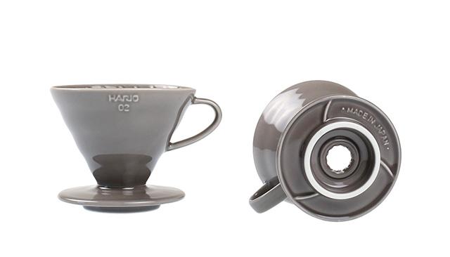 ILCANA(イルカナ)×ハリオ V60セラミックドリッパー グレー