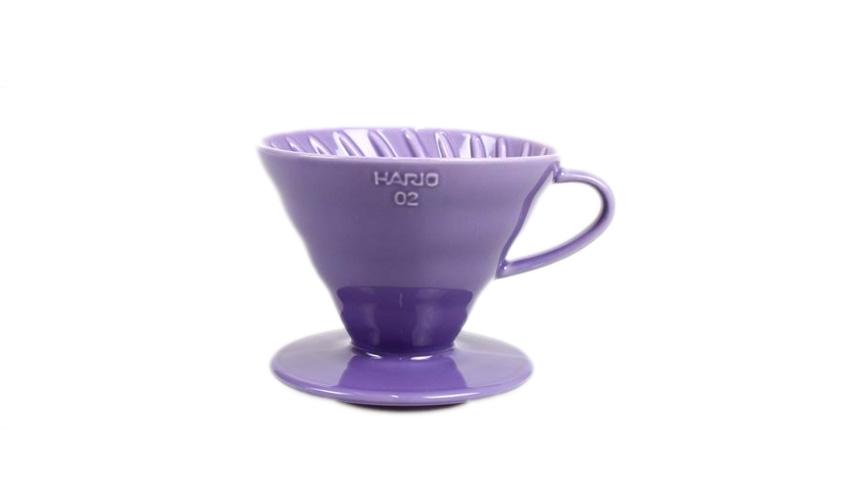 ILCANA × HARIO セラミックドリッパー02 藤紫/イルカナパープル