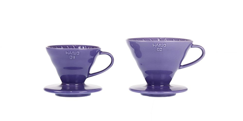 セラミックコーヒードリッパー01 藤紫/イルカナパープル