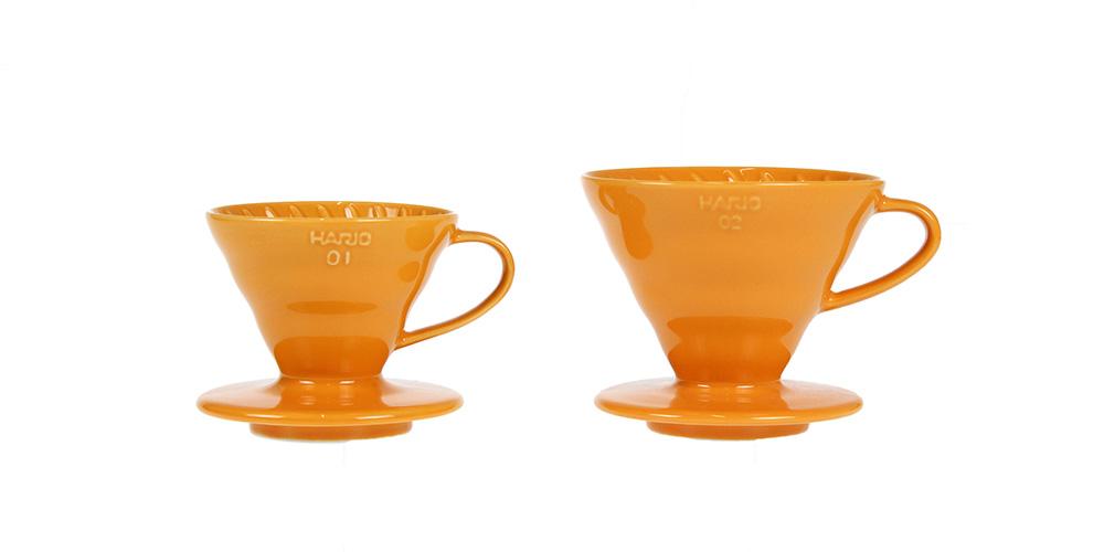 セラミックコーヒードリッパー01  蜜柑/イルカナオレンジ