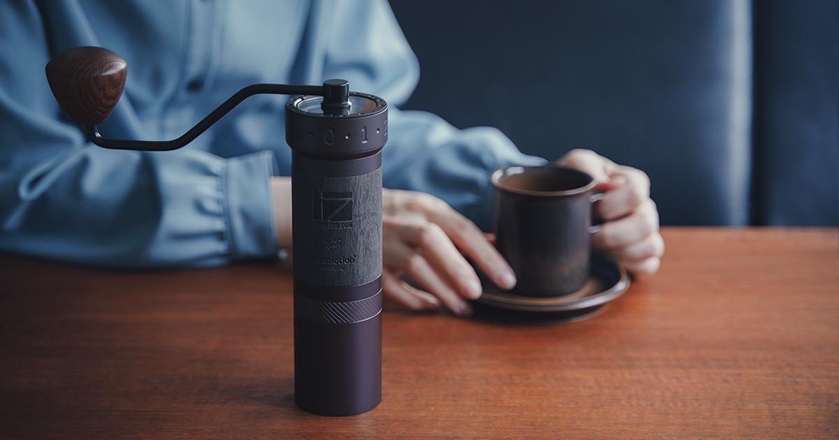 1Zpresso 最上位 日本モデルコーヒーグラインダー JPpro