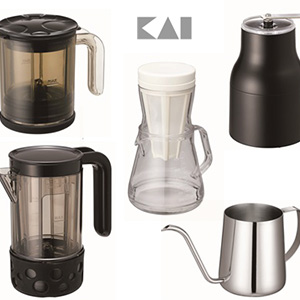 貝印(Kai House Select)から、  コンパクトなコーヒーシリーズが登場してる!
