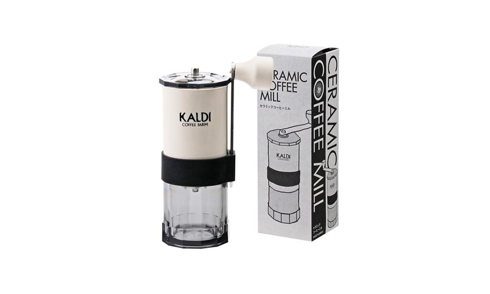 カルディコーヒーファームオリジナルデザイン 手挽きコーヒーミル