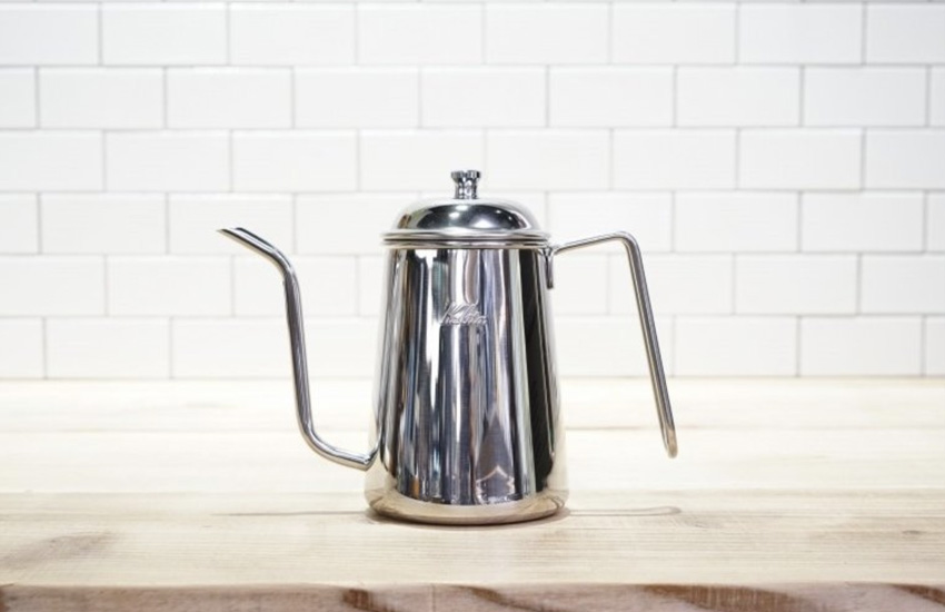 Kalita(カリタ)細口ポット0.7L STEEL for GINA