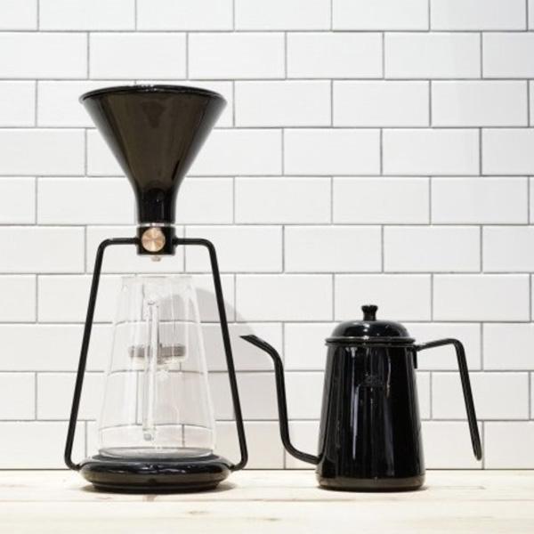 IoTスマートコーヒーメーカー『GINA』のために作られた【Kalita】細口ポット、GINAモデル。