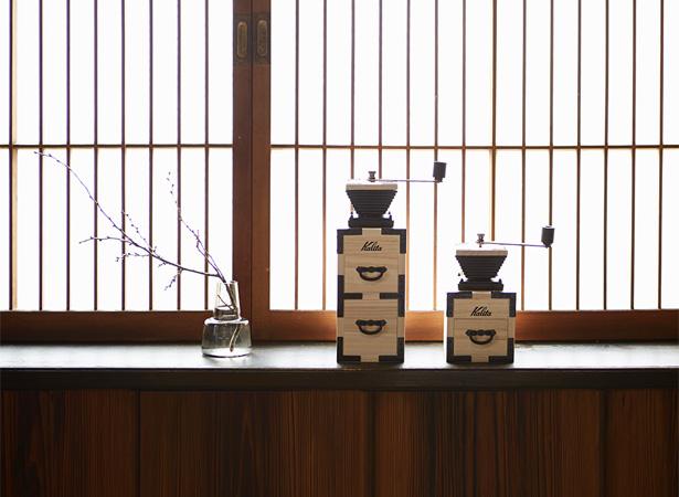 Kalita × KIRI(桐) コーヒーミル
