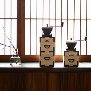 Kalitaの新作コーヒーミルは、  日本の伝統を受け継いだKIRI(桐)とのコラボ!
