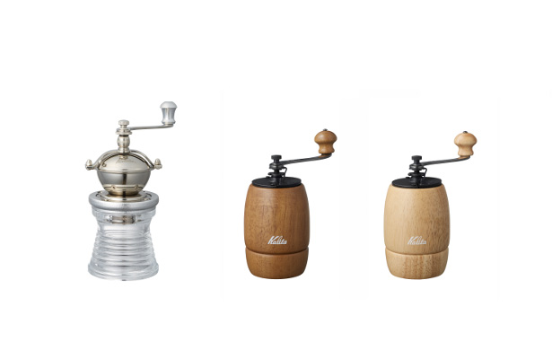 Kalita(カリタ)から新しいコーヒーミルが3種類