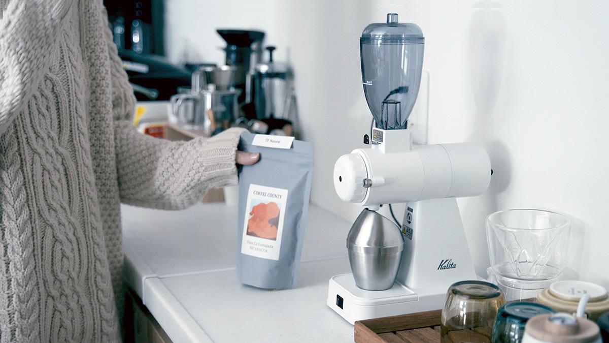 Kalita/カリタ コーヒーミル NEXTG/ネクストG ホワイト