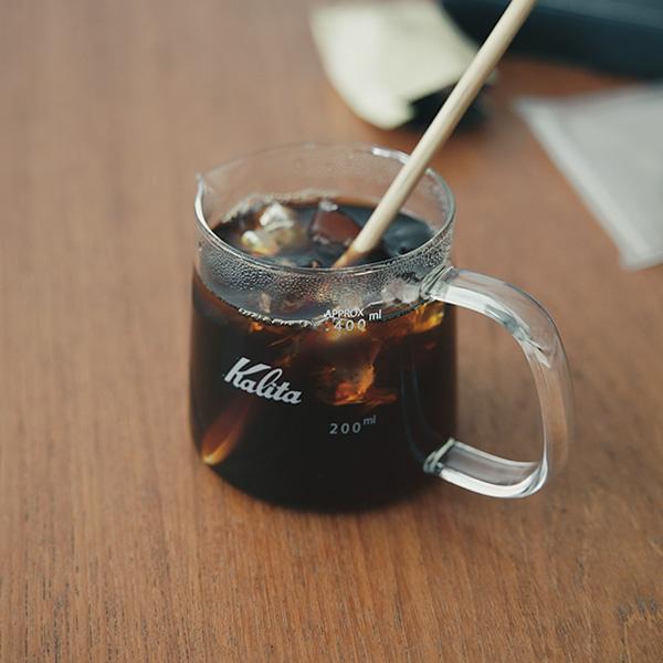 【レビュー】カリタのコーヒーサーバー Jug400 、  絶妙な使い心地がすごく気に入ってる。