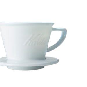 Kalita(カリタ)のウェーブフィルター用ドリッパーに、波佐見焼の陶器ドリッパーが登場!セットできるコーヒーポットも。