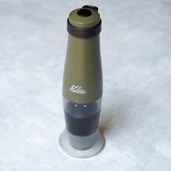 手挽きのような電動コーヒーミル、  【Kalita スローG15】 使ってみました。