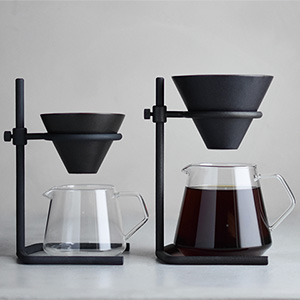 KINTO(キントー)のSLOW COFFEE STYLE SPECIALTYに第4弾!とにかく男前なブリューワースタンドセットが登場です。