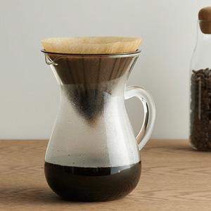 KINTOのSLOW COFFEE STYLE コーヒーカラフェセットにペーパー用のプラスチックがでてた....