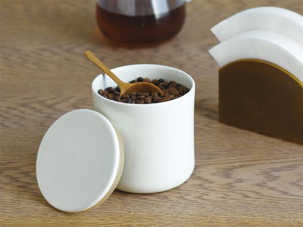 kinto(キントー)SLOW COFFEE STYLE 磁器製キャニスター ホワイト