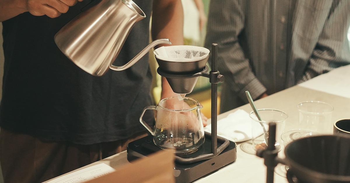 【KINTO × SINGLE O】目からウロコの  コーヒーワークショップ、とても有意義でした。