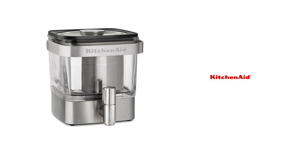 キッチンエイドから、サーバータイプの『コールドブリューコーヒーメーカー』が登場!お茶や紅茶にも。