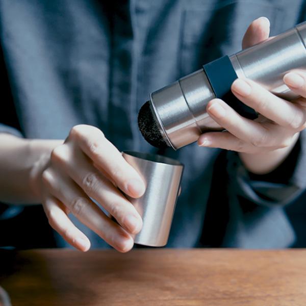微粉が落とせるコーヒーミル! 【珈琲考具】パウダーコントロールミルのレビュー