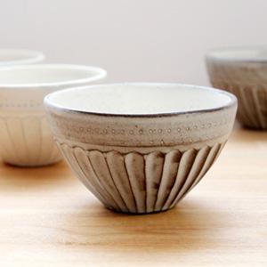 小石原焼の陶器市で、カフェオレボウルを買ってきました。