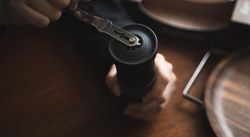 cafflano カフラーノのコーヒーミル Krinder クラインダー